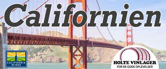 Nu starter Holte Vinlager sin Californien-kampagne!