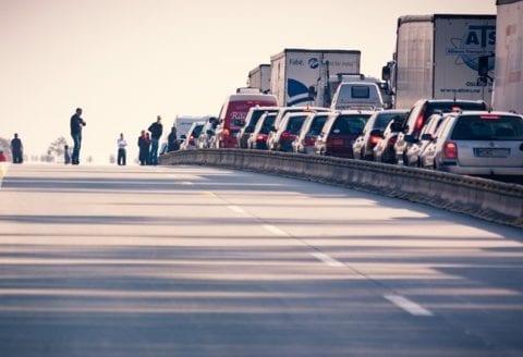 Bilen bryder ned i ferien, foto: SOS