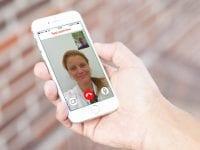 App til ferielægen, foto: TRYG