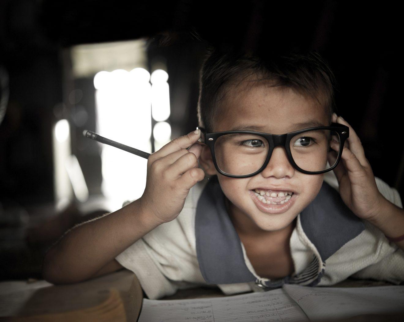 Gamle briller kan gøre en synlig forskel i Nepal