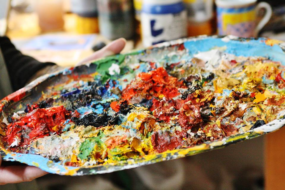 Kom og lær at male rå baggrunde