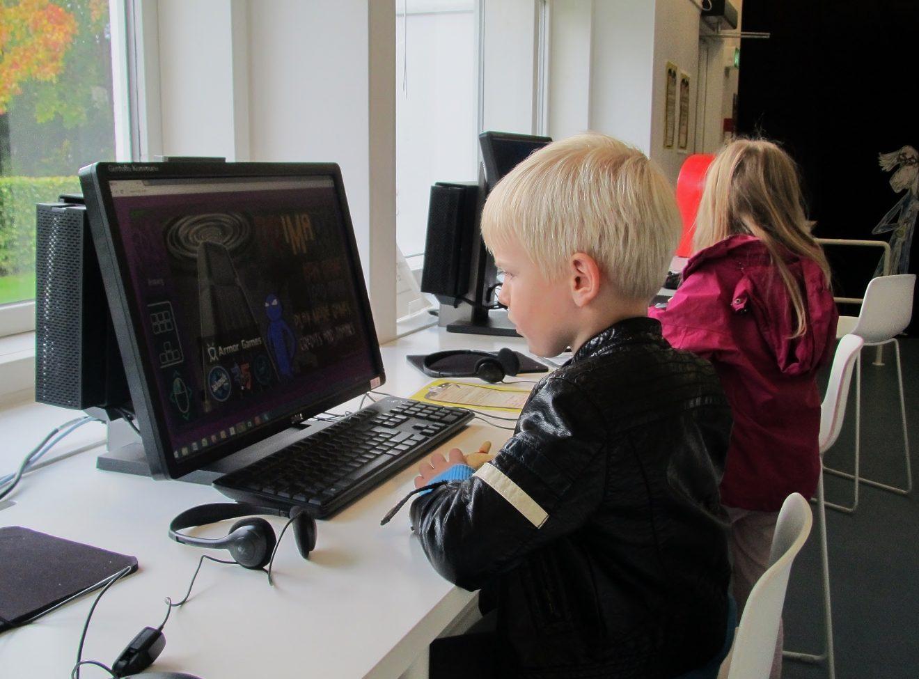 Digitale bøger – Workshop for børn
