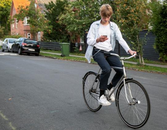 En solrig efterårsdag på cykeltur