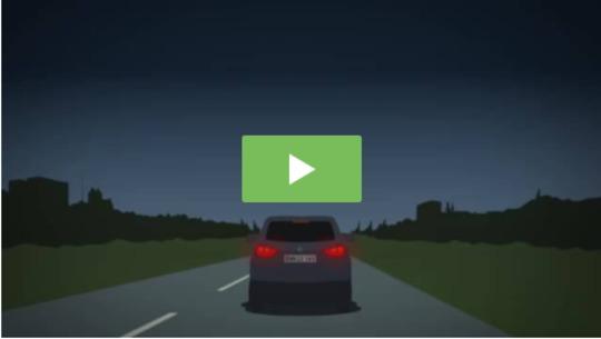 Kampagne skal få bilister til at tænde baglygterne