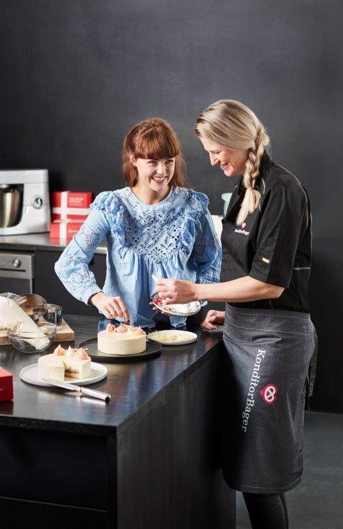 Køge-bager sælger kage skabt sammen med Victoria fra Bagedysten