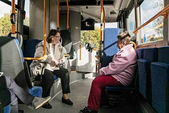 Pensionister får lige adgang til rabat på kollektiv transport