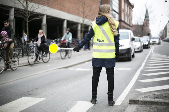 Skolepatruljer får bilister til at sætte farten ned
