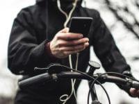 Mobiler på cyklen, foto: RfST