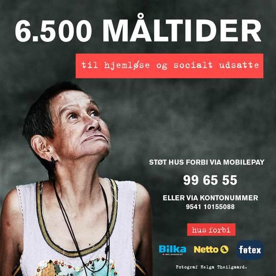 Hus Forbi iværksætter millionindsats for hjemløse og socialt udsatte med hjælp fra Salling Group