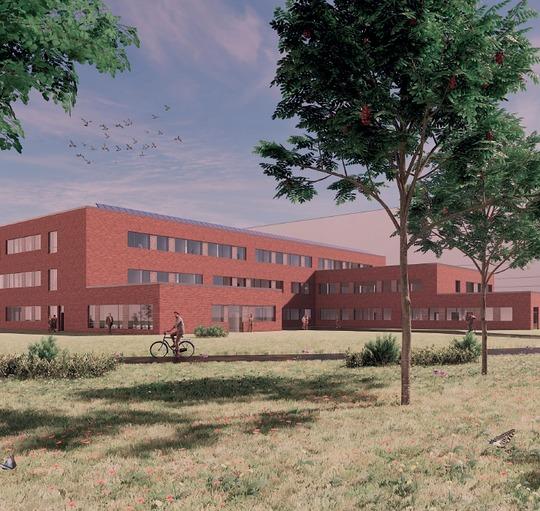 Entreprenør valgt til opførelse af den næststørste etape til nyt universitetshospital